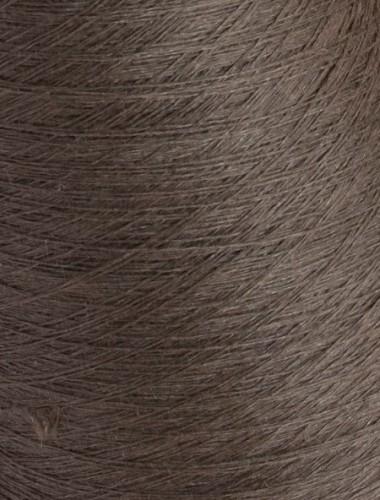 Hørgarn 11(21) jordbrun farve