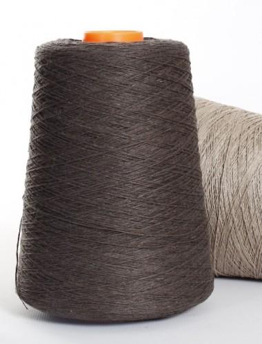 Hørgarn 11(18) koksbrun farve