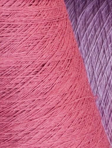 Hørgarn 10(9) mørk rosa farve