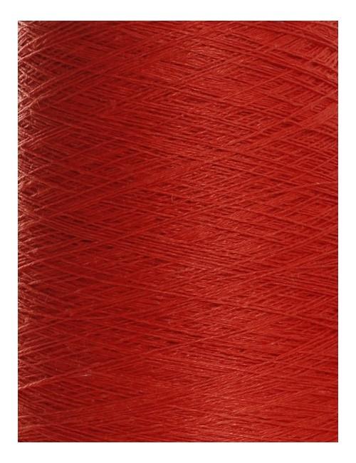 Hørgarn 10(4) dyb rød farve