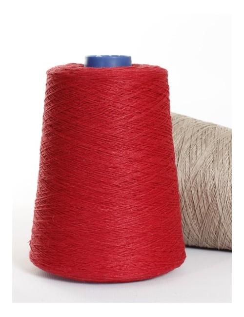 Hørgarn 10(3) rød farve