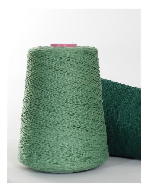 Hørgarn 9(10) grøn farve