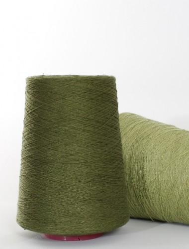Hørgarn 9(5) mørke grøn farve