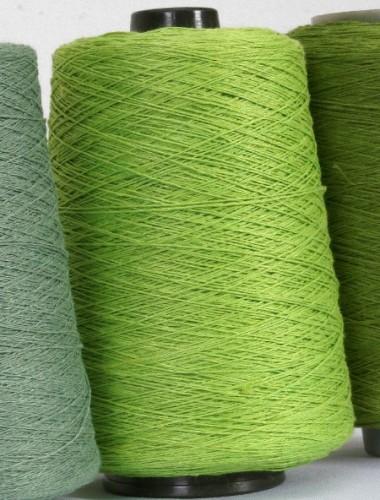 Hørgarn 9(2) frisk grøn farve