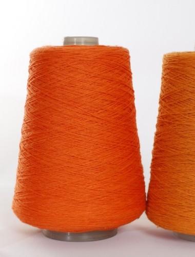 Hørgarn 8 klar orange farve