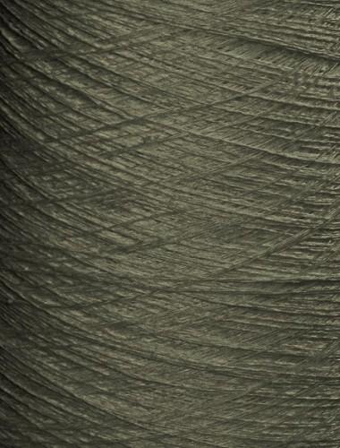 Hørgarn 7(2) grå grønlig farve