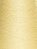 Hørgarn 6(16) sart gul farve