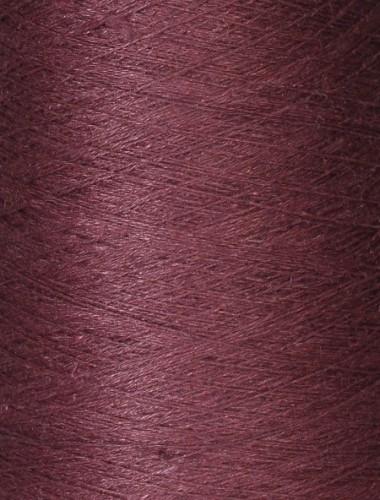 Hørgarn 3(6) rødbrun lilla...
