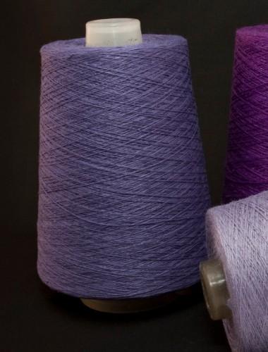 Hørgarn 3(5) violet farve