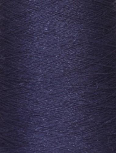 Hørgarn 2(19) dyb blå farve