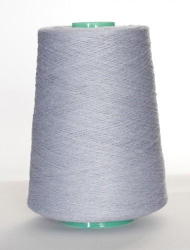 Hørgarn 2(18) sart blå farve