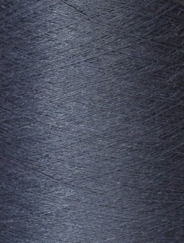 Hørgarn 2(14) brunligblå farve