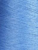 Hørgarn 2(1) kornblomstblå...
