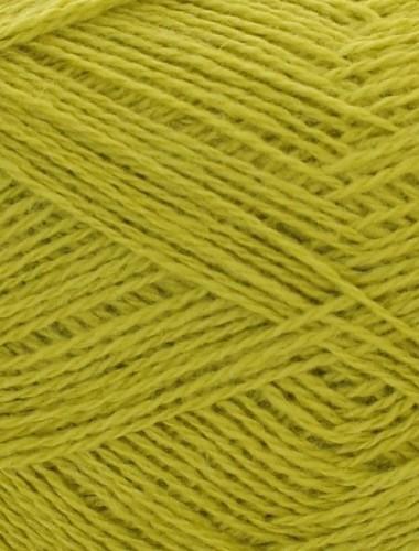 Uldgarn i lys lime farve 340