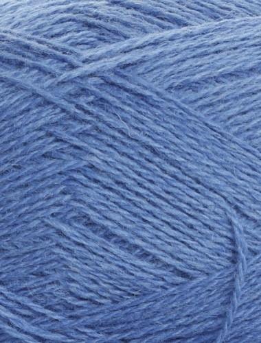 Uldgarn i kornblomst blå...