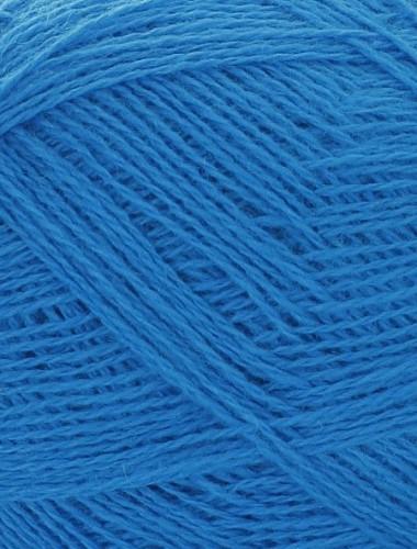 Uldgarn i madam blå farve...