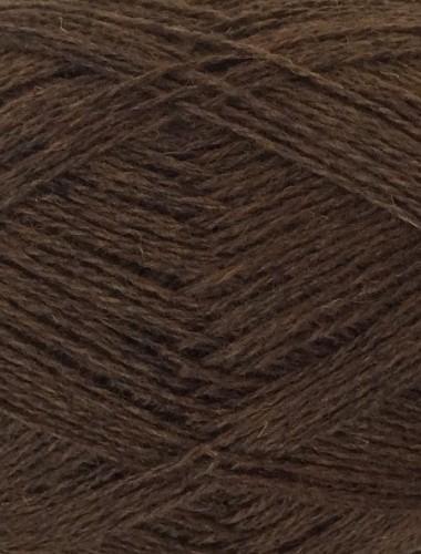 Uldgarn i gråbrun natural...