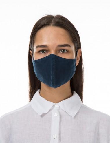 Mundbind i mørkeblå farve 184
