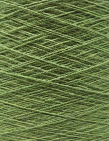 Strømpegarn 80%uld - 341 grøn
