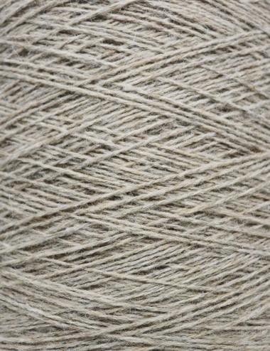 Strømpegarn 80%uld - 640 sand
