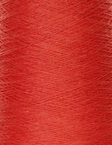 Hørgarn 10 orange rød farve