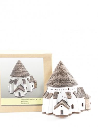 Østerlars kirke i keramik