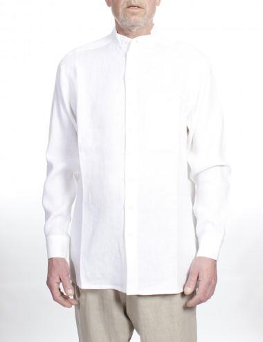 Kinaskjorte oversize til herre