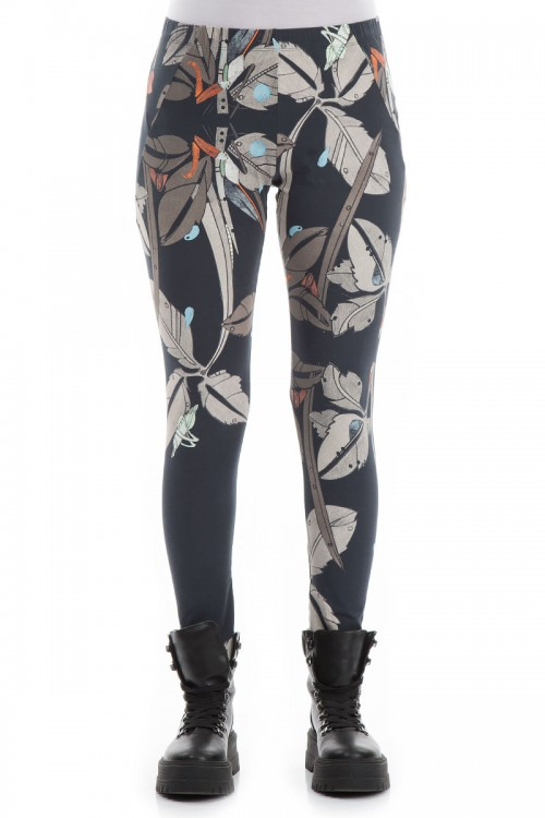 Leggings i flora