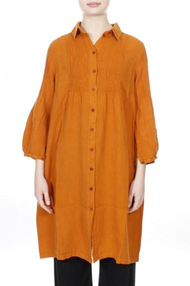 Lang skjorte med bisser
