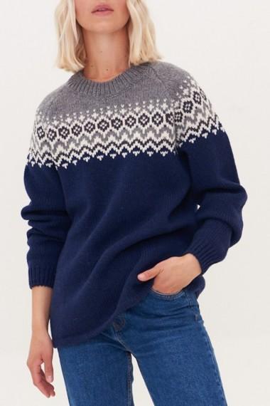 Sweater i nordiske mønstre
