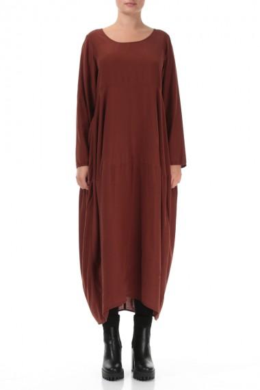 Elegant kjole i silke-bambus
