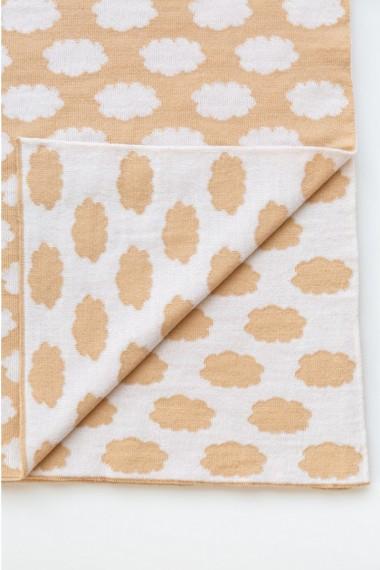Uldent tæppe til baby