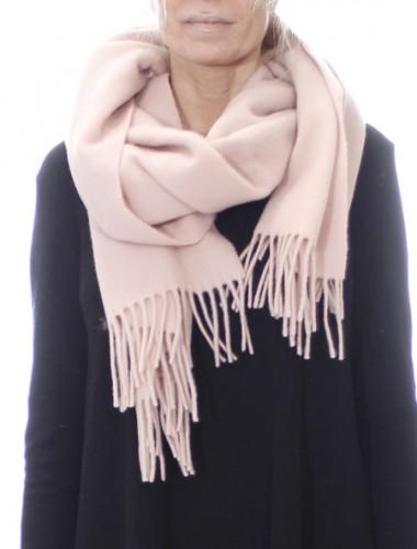Tørklæde i 100% let valket uld